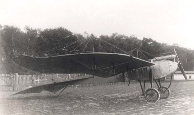Taube avion allemand en 1914